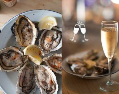 Oyster & Bubbly Experience