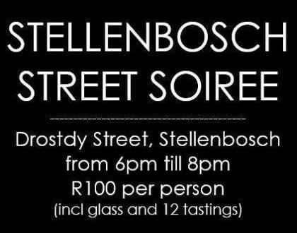 Stellenbosch Street Soirees