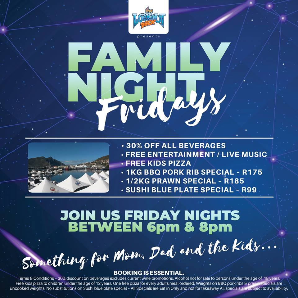 Family Nights At The Lookout Deck