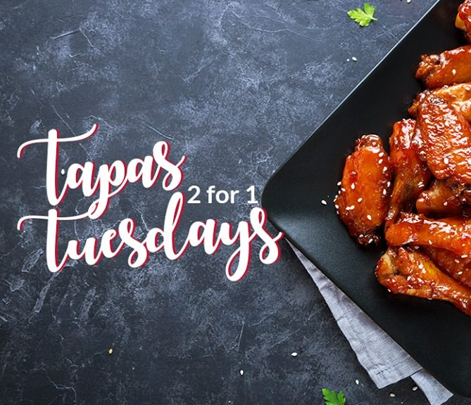2-For-1 Tapas Tuesdays at the Rockwell