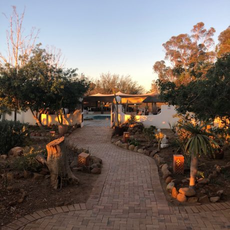 AN OASIS IN THE KLEIN KAROO