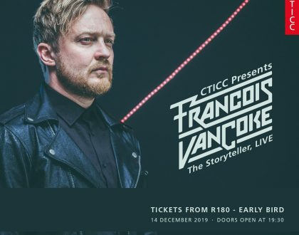 Francois van Coke at the CTICC