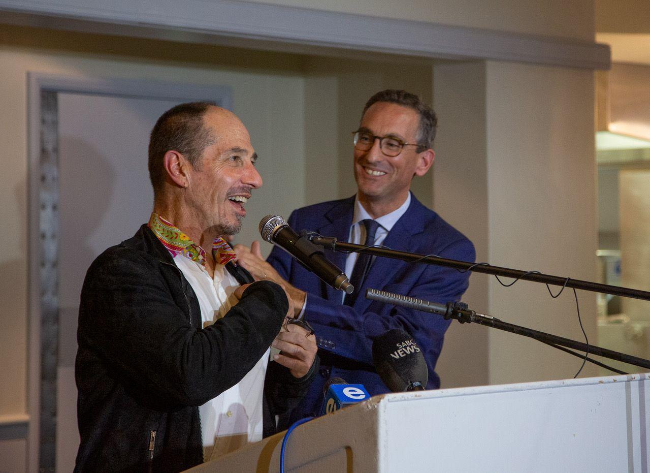Zapiro receives France's top cultural award
