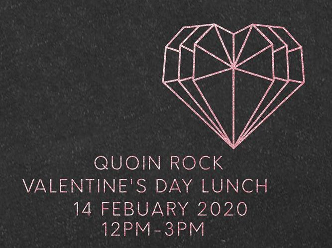 Valentine's Day at Quoin Rock