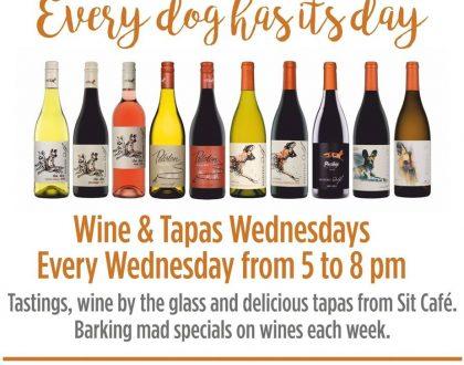 WINE & TAPAS WEDNESDAYS