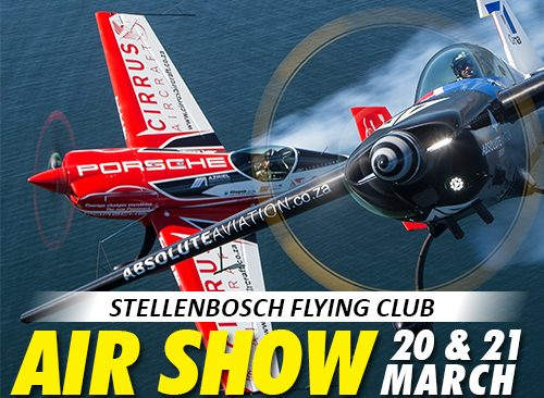 THE 2020 STELLENBOSCH AIR SHOW