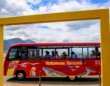 CITY SIGHTSEEING NOW IN HERMANUS