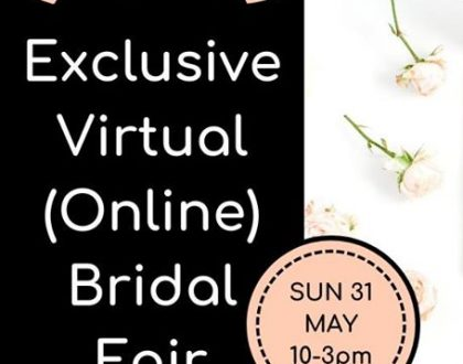 SA Bridal Fairs - Exclusive Virtual Bridal Fair - Western Cape