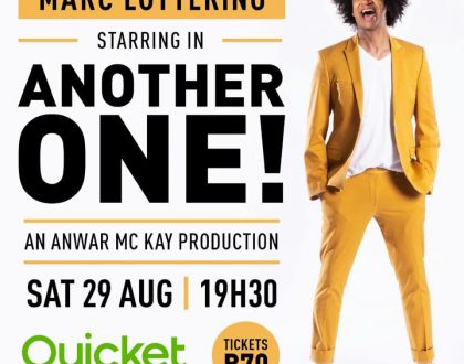 ANOTHER ONE! starring Marc Lottering