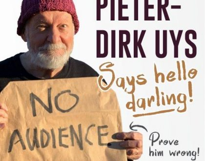 Pieter-Dirk Uys will celebrate 67 minutes into Madiba Day