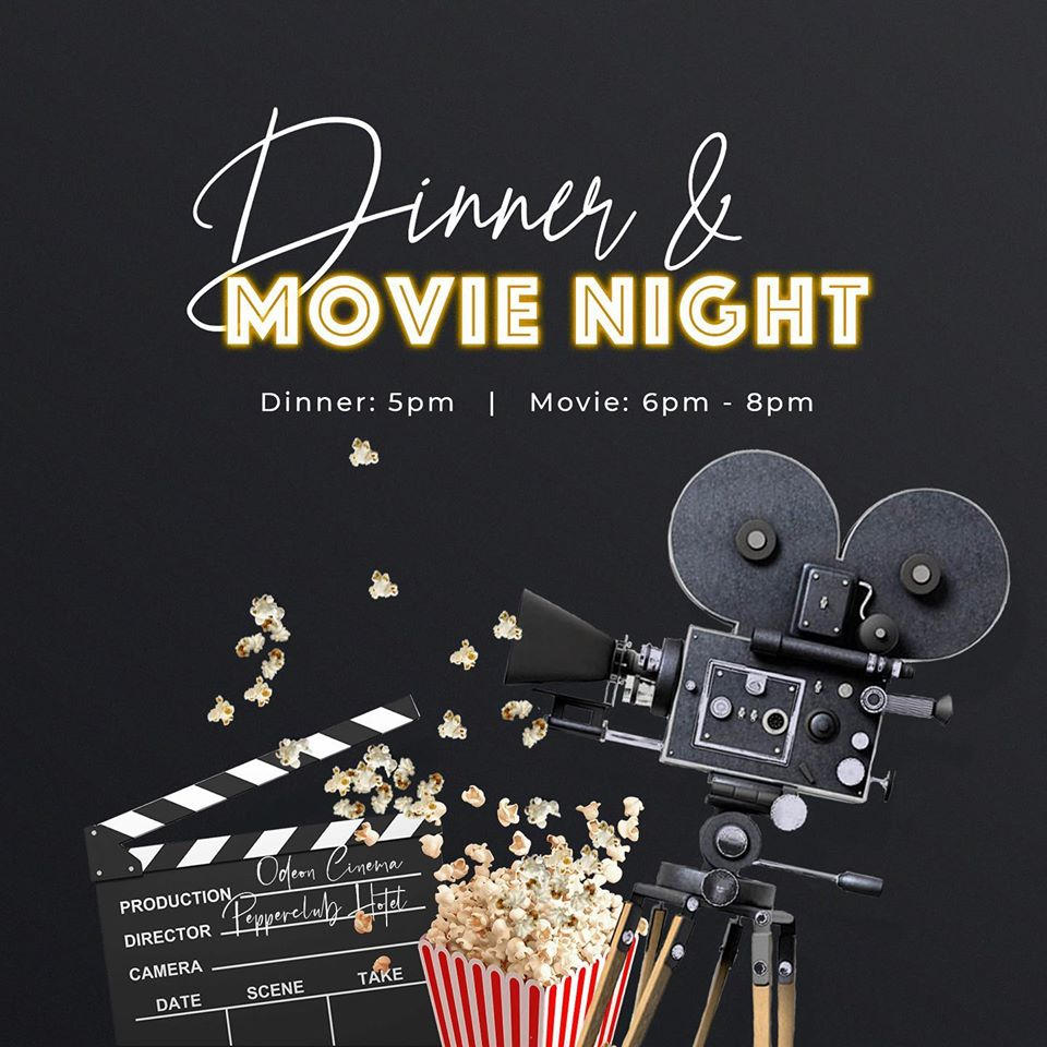 Dinner And Movie Night At The Pepperclub Hotel