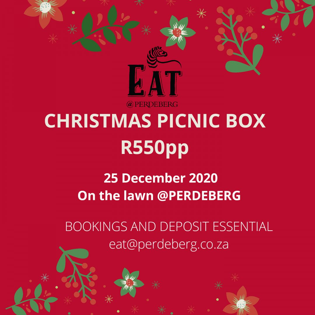 Christmas Picnic Lunch At Perdeberg