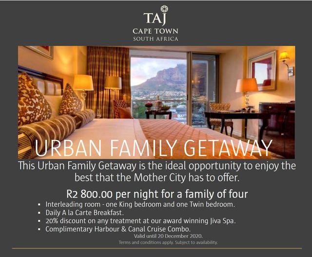 Taj Cape Town's Urban Family Getaway