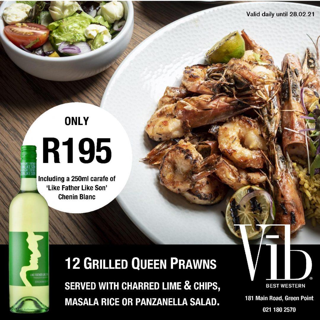Prawn Promo at ViB Cape Town