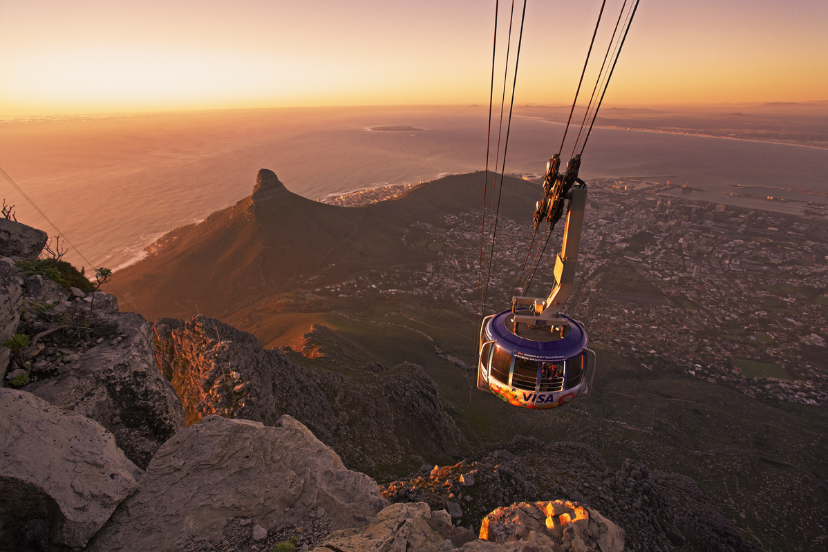 TABLE MOUNTAIN IS SET UP TO WELCOME YOU SAFELY