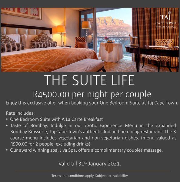 January Accommodation Special At Taj