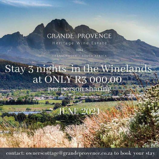 Grande Provence Owner's Cottage Winter Promo
