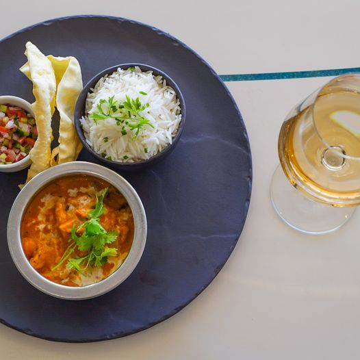 Curry And Wine Pairing at Tobago's Restaurant