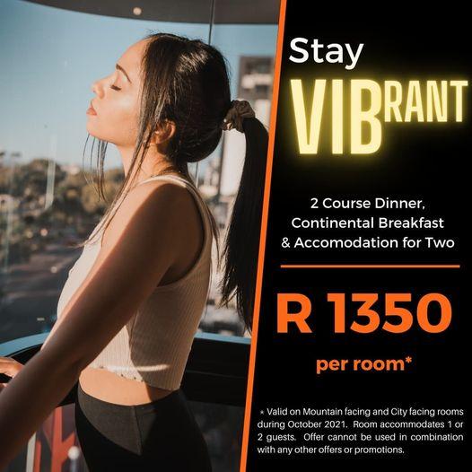 DINNER, BED & BREAKFAST AT VIB HOTEL
